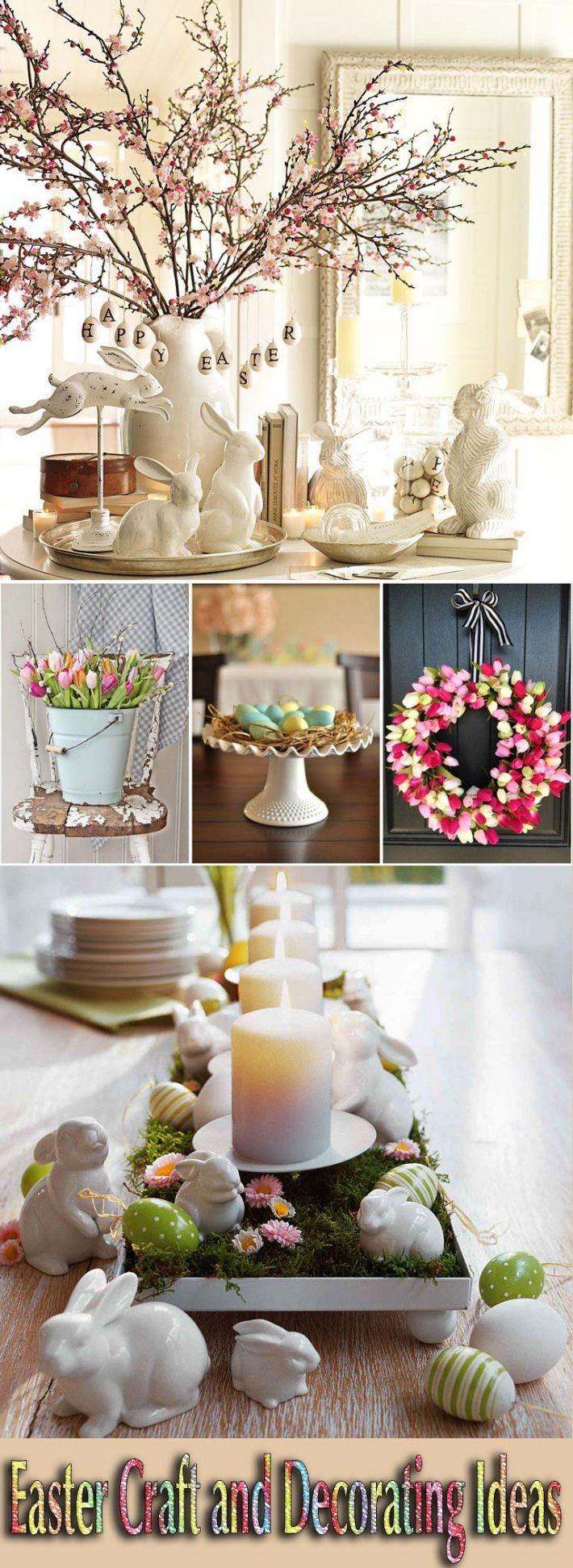 Decorating Tips: Quiet Corner:Easter Craft And Decorating Ideas