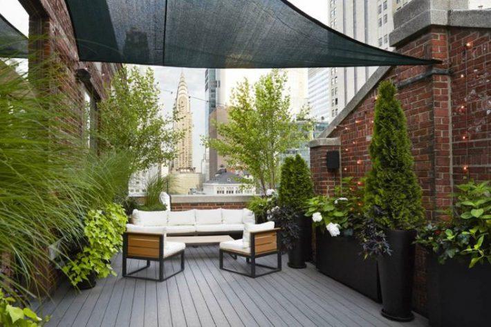 Terrace-Roof-Garden-Ideas-3 & Quiet Corner:Terrace - Roof Garden - Quiet Corner