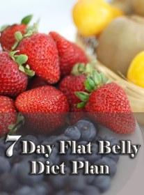 7 Day Flat Belly Diet Plan