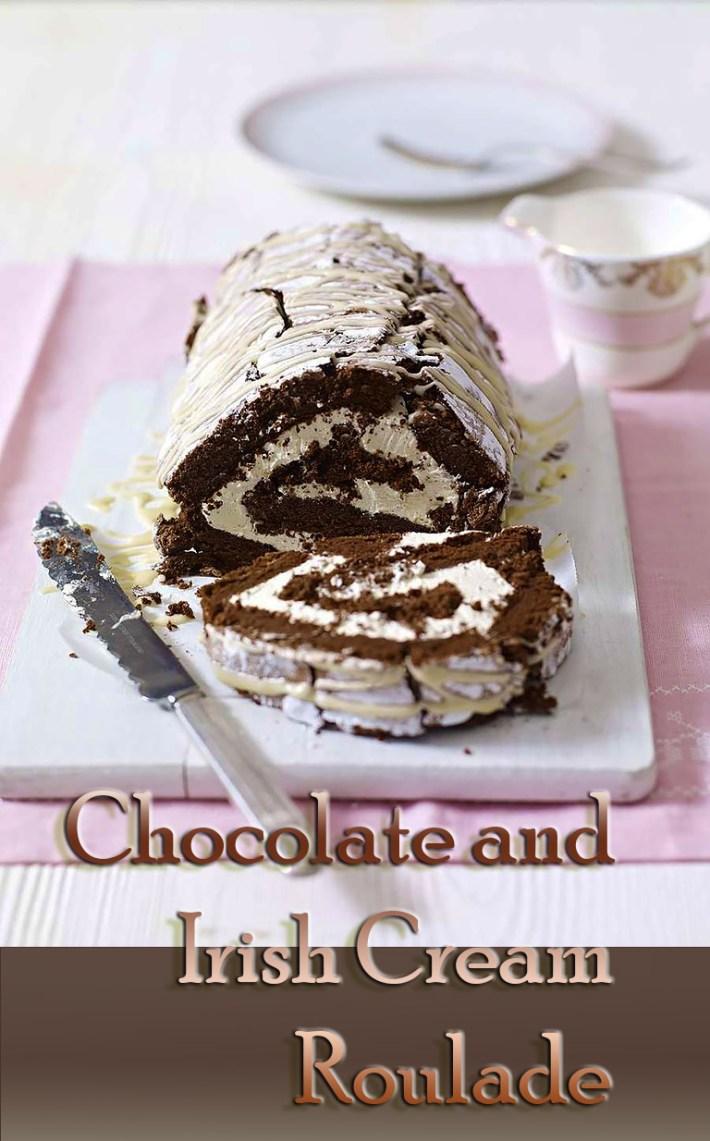 Chocolate and Irish Cream Roulade – Video Recipe