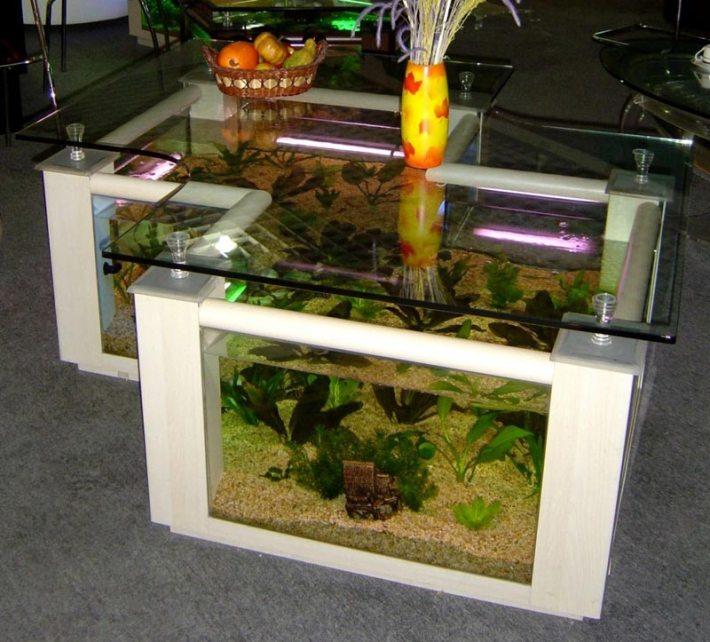 Beautiful Coffee Table Aquariums (2)