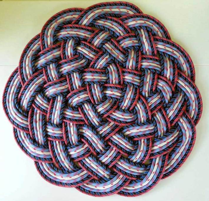 DIY Rope Rug Creative Ideas (15)