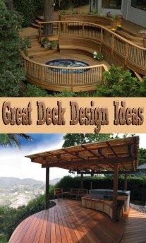Great Deck Design Ideas