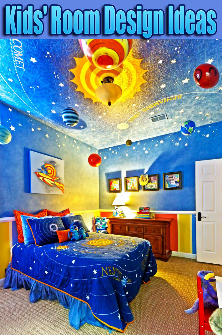 Kids' Room Design Ideas