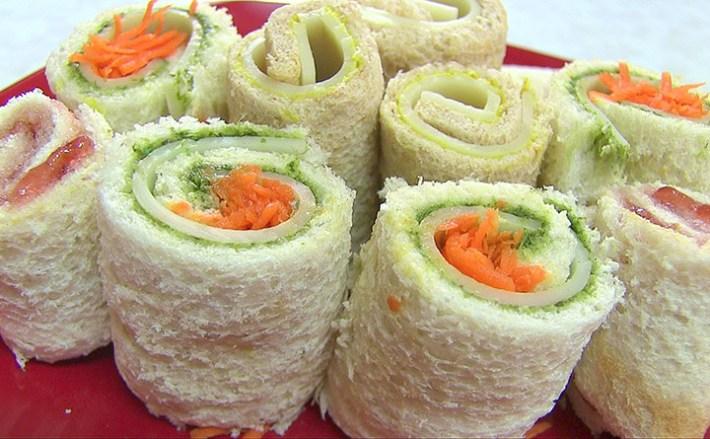 Sandwich Rollups Video Recipe