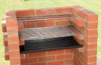 DIY Backyard Brick Barbecue