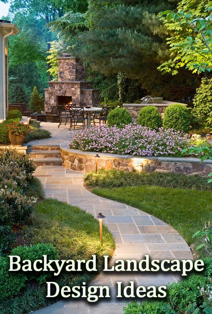 Quiet Corner Backyard Landscape Design Ideas Quiet Corner