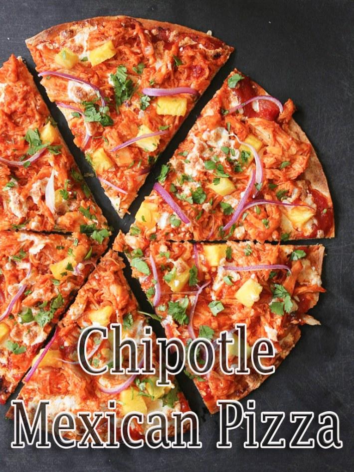 Chipotle Mexican Pizza