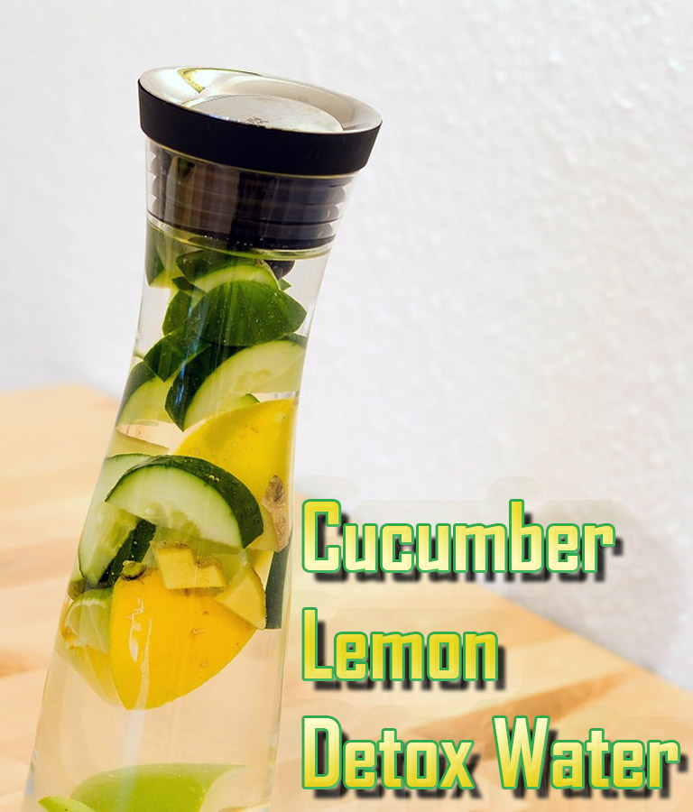 Cucumber Lemon Detox Water - Quiet Corner