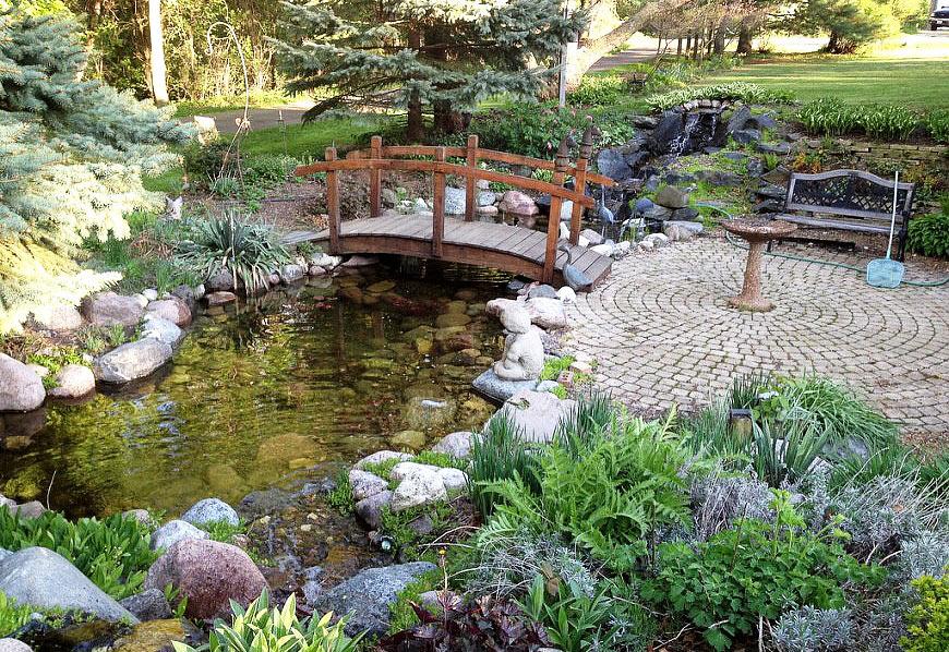 Backyard Ideas Water Pond