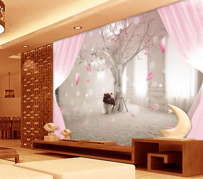 Living Room Photo Wallpapers and Wall Art (12)