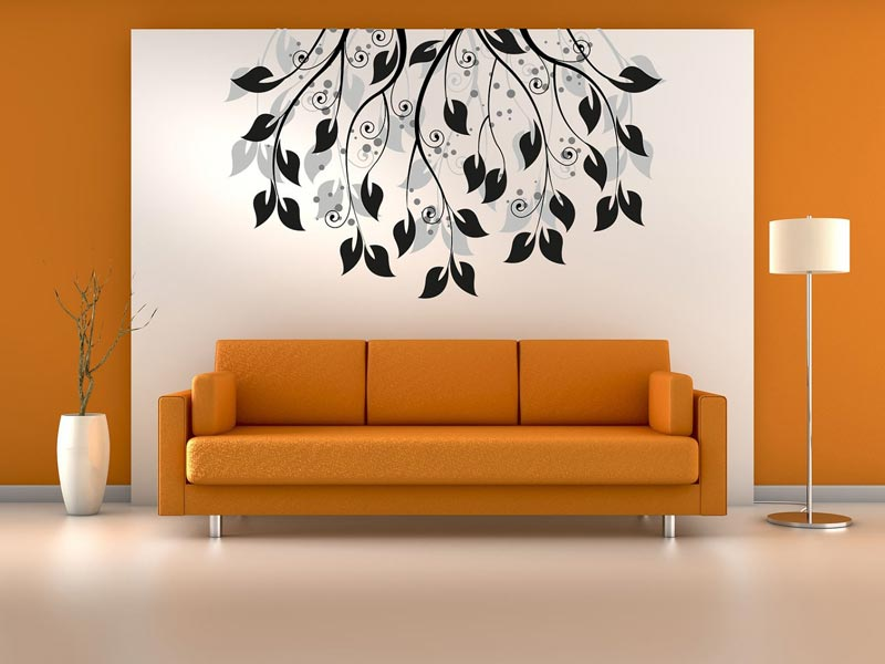 Living Room Photo Wallpapers And Wall Art 24
