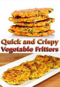 Quick and Crispy Vegetable Fritters