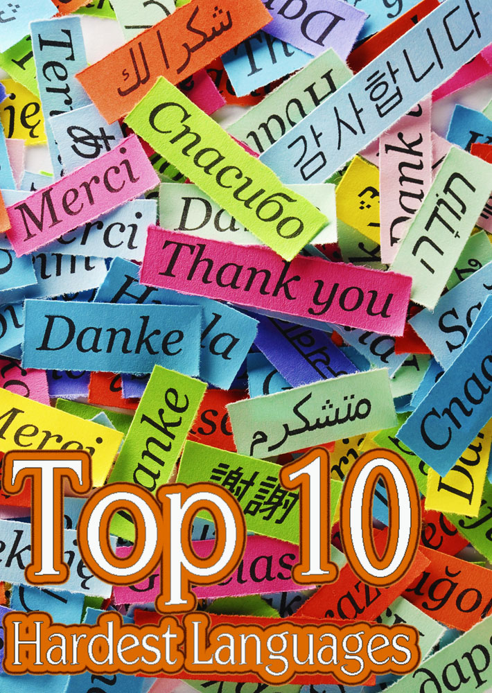 Top 10 Hardest Languages to Learn - Quiet Corner