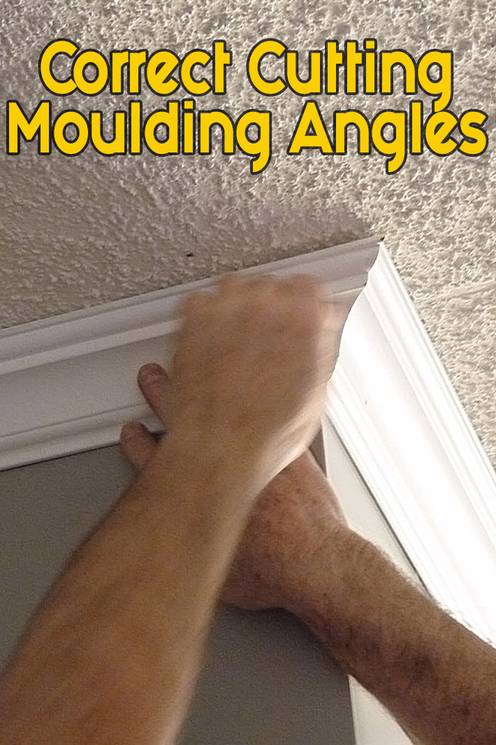 DIY - Correct Cutting Moulding Angles - Quiet Corner