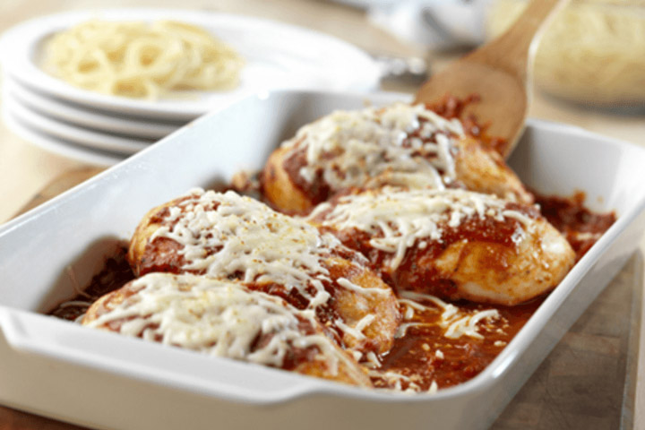 Easy Chicken Parmesan - Quiet Corner