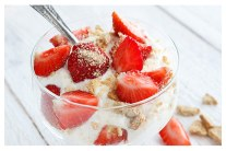 Roasted Strawberries and Ricotta Recipe