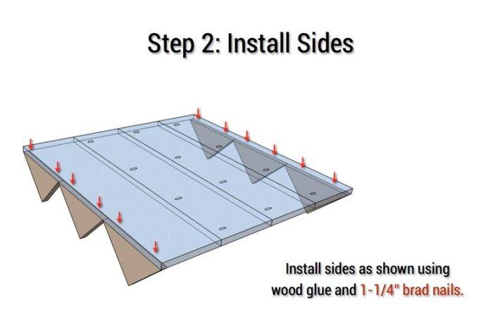 DIY - Easy Cedar Wall Planter