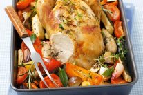 Easy Roast Chicken and Vegetables