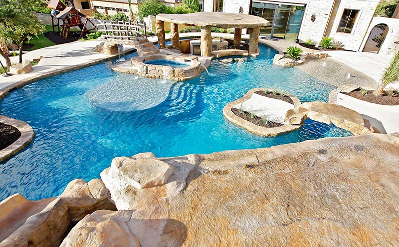Quiet corner free form pool designs ideas quiet corner for Free pool design