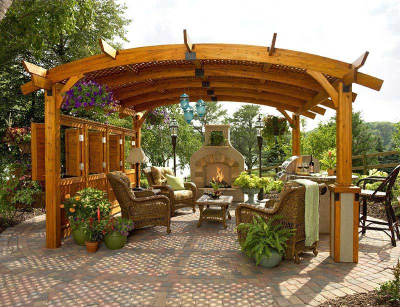 Outdoor Pergolas Home Design Ideas ... - Quiet Corner:Outdoor Pergolas Home Design Ideas - Quiet Corner