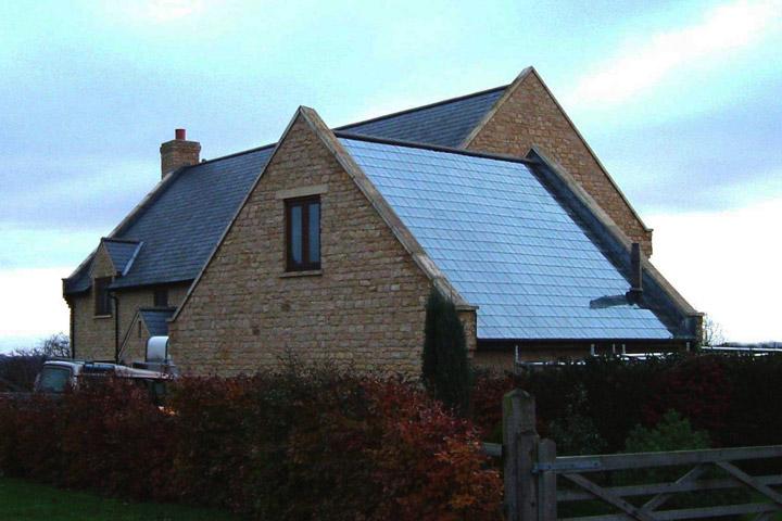 Solar Roof Tiles - Quiet Corner