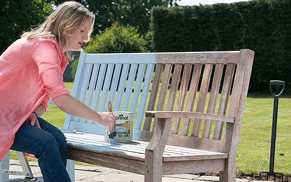 Quiet Corner How To Paint Outdoor Furniture Quiet Corner