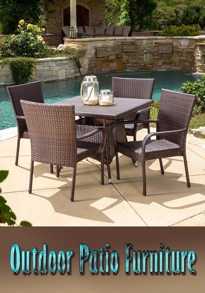 Outdoor Patio Furniture – Types and Materials