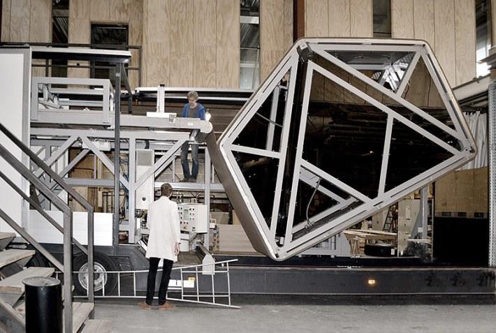 Wikkelhouse - Modular Microhome Made of Cardboard