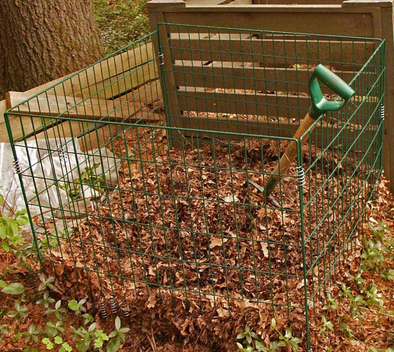 Composting Leaves - Quiet Corner