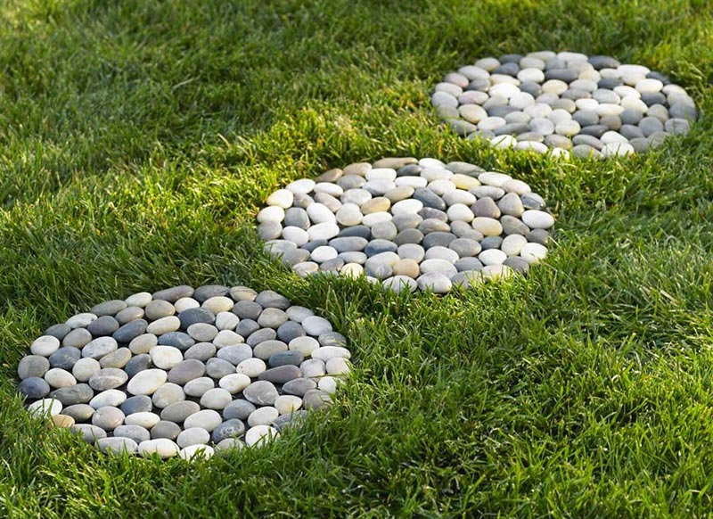 Diy Garden Projects Part - 48: Easy DIY Garden Projects With Stones