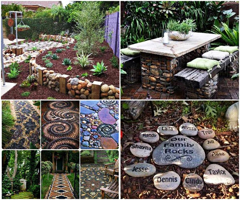 The Best Garden Ideas And Diy Yard Projects: Quiet Corner:Easy DIY Garden Projects With Stones