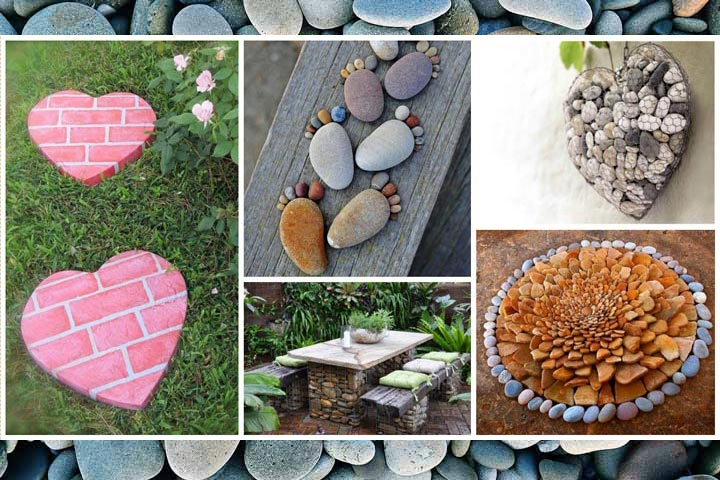Easy DIY Garden Projects with Stones - Quiet Corner
