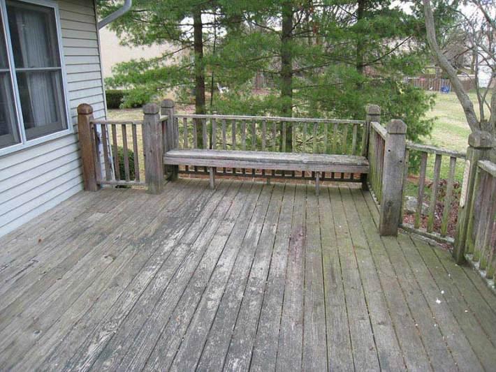 Quiet Corner How To Resurface Cracked Amp Splintered Wood