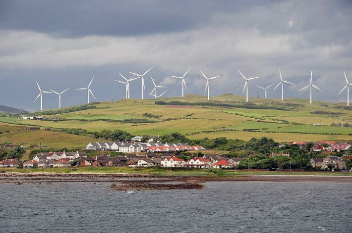 Wind Power Generated 106% of Scotland's Energy Needs