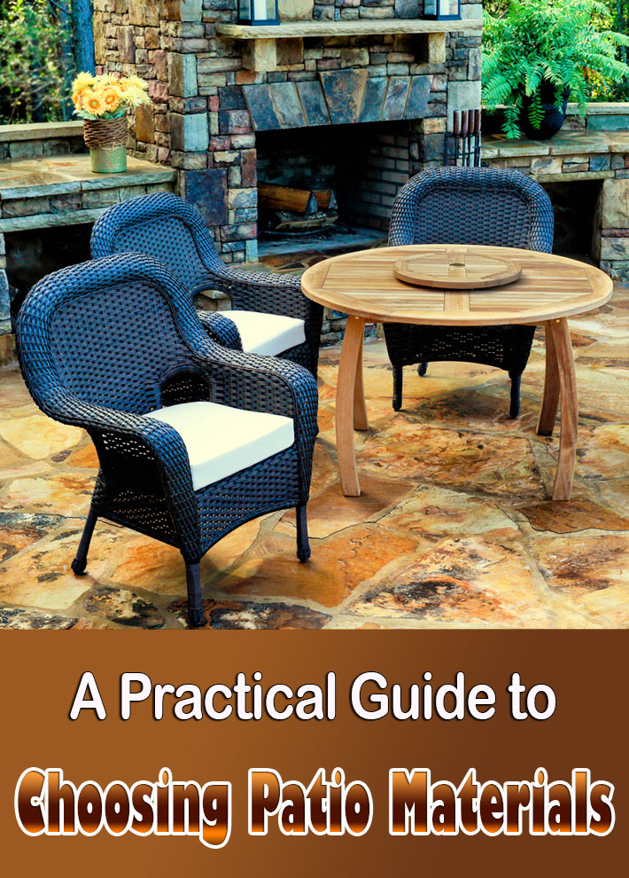 Quiet Corner:A Practical Guide To Choosing Patio Materials   Quiet Corner