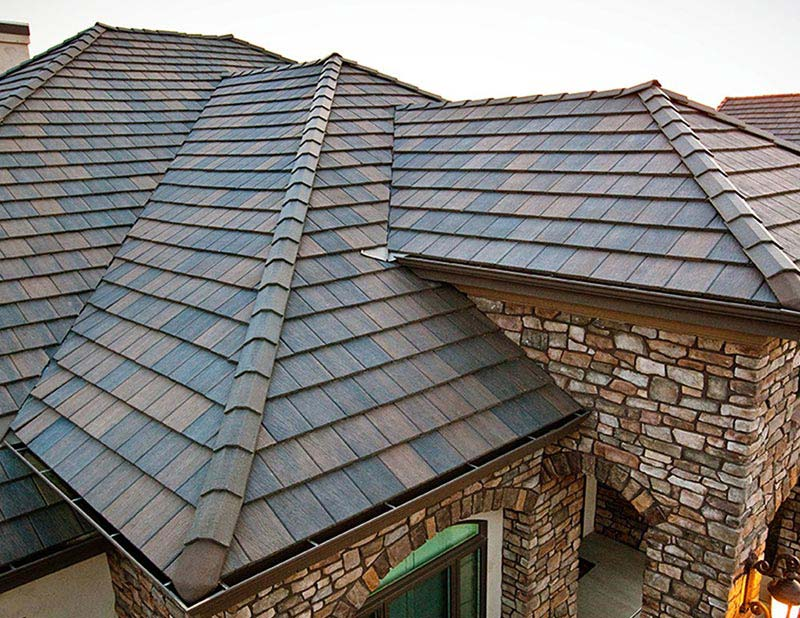 Quiet corner 10 best roofing materials for warmer climates for Most expensive roof material