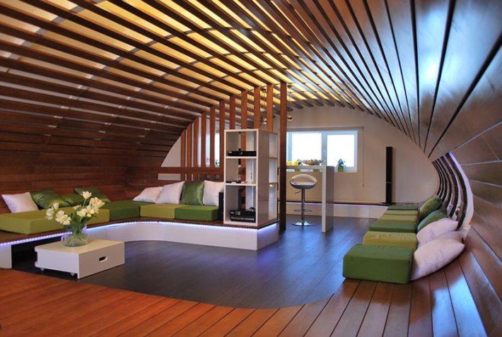 Attic Space Interior Design Ideas