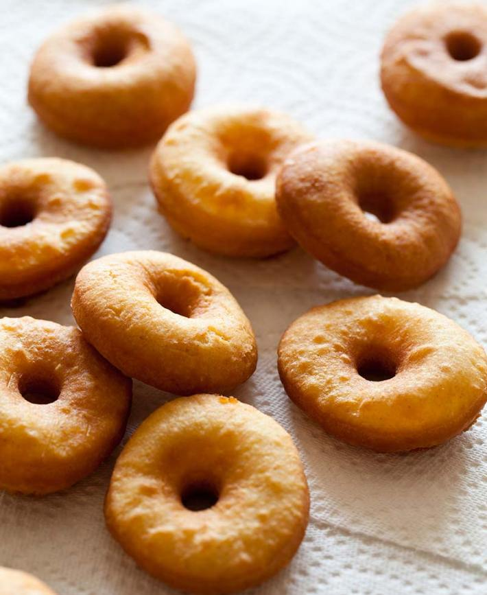 No Yeast Cake Doughnuts Recipe