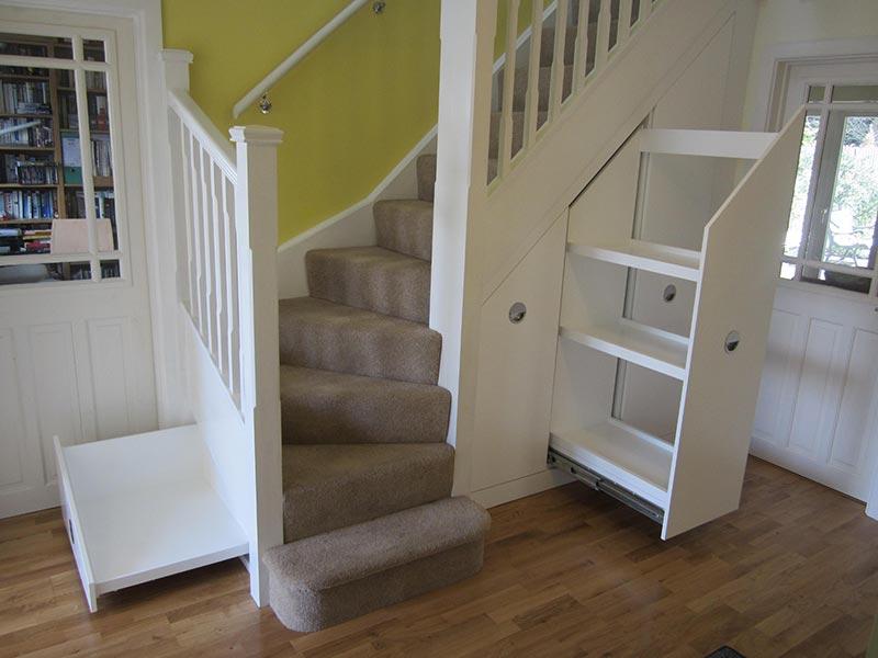 Lighting Basement Washroom Stairs: Quiet Corner:Under Stair Space Clever Ideas