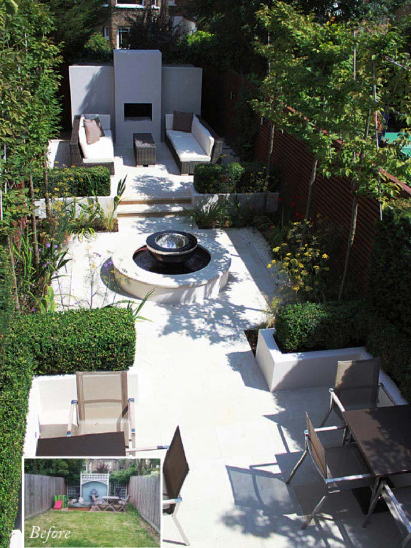 Outdoor Patio Ideas Backyards Landscapes Plants