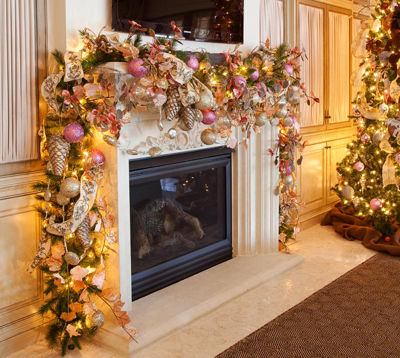 diy christmas garland tutorials and ideas - How To Decorate A Christmas Garland