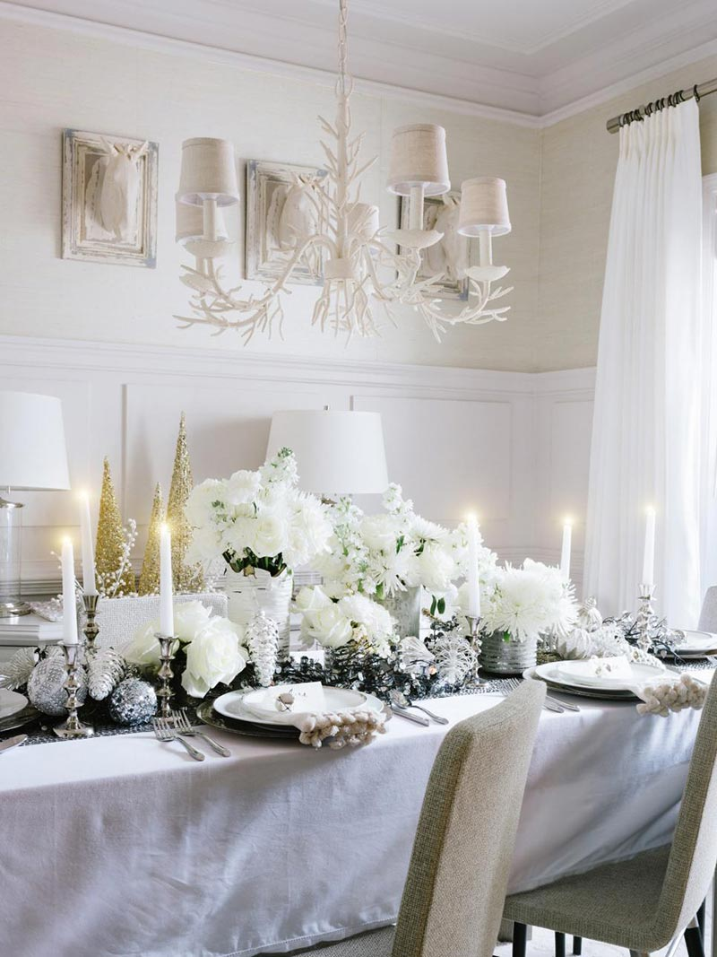quiet corner ideas for christmas table decorations quiet