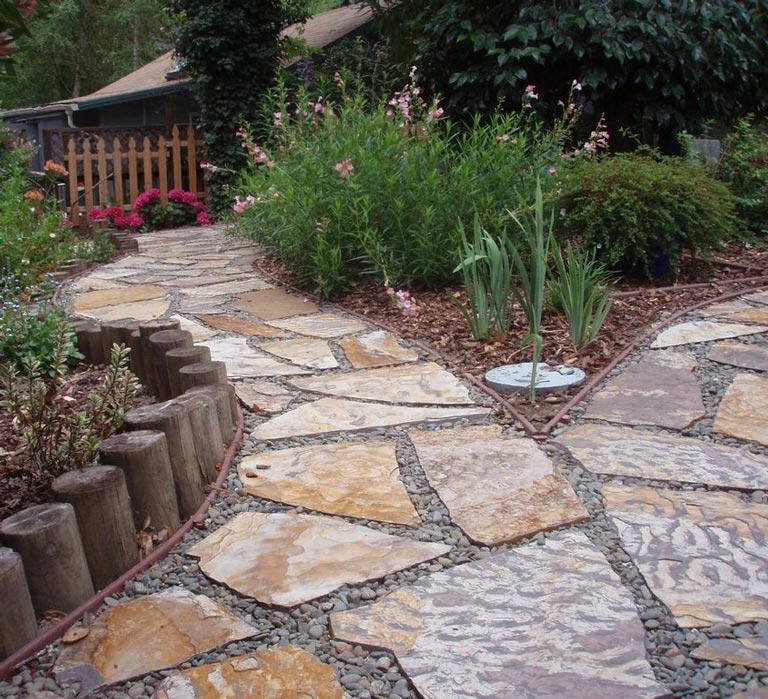 Cheap Sidewalk Ideas: Quiet Corner:Garden Walkways Tips And Ideas
