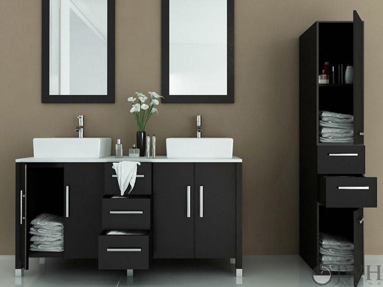 Quiet Corner:Great Ideas for Bathroom Double Sinks - Quiet ...