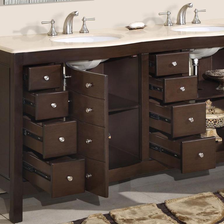 Quiet corner great ideas for bathroom double sinks quiet - Double sink bathroom decorating ideas ...
