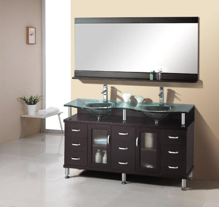 Great Ideas for Bathroom Double Sinks
