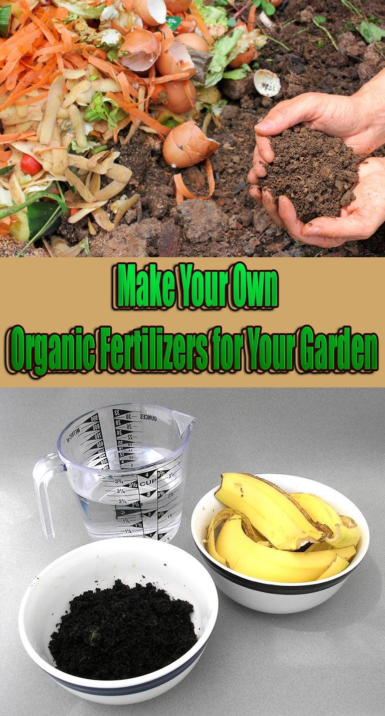 Make Your Own Organic Fertilizers for Your Garden - Quiet Corner