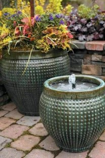 DIY – Fountain in a Pot