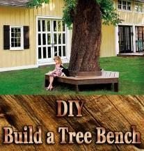 DIY - Build a Tree Bench